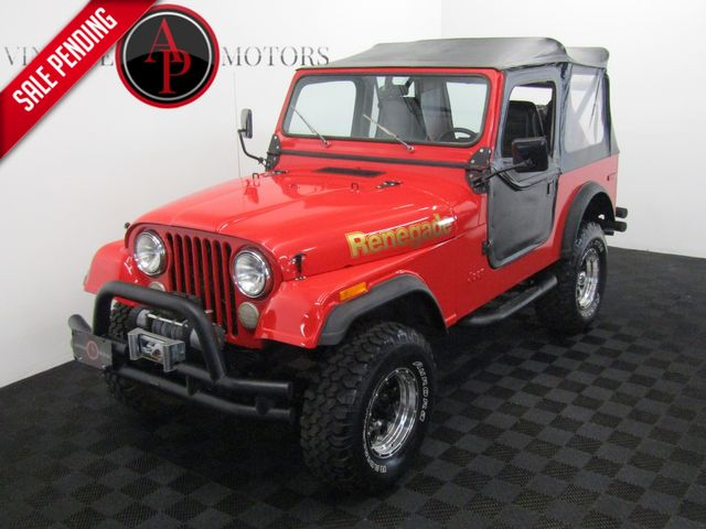1980 Jeep CJ7 RENEGADE AUTO PS DISC BRAKES