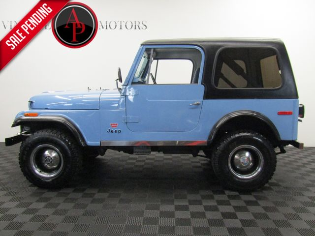 1980 Jeep CJ7 LEVI EDITION WITH PAPERWORK