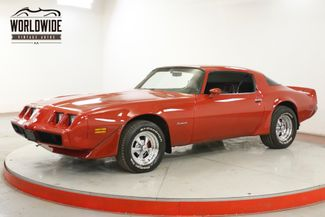 1980 Pontiac FIREBIRD 350 AUTO BRIGHT RED PS PB FRONT DISC  | Denver, CO | Worldwide Vintage Autos in Denver CO