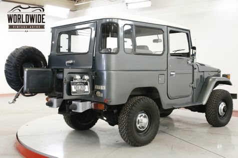 1980 Toyota FJ40  RARE 4X4 TWO TONE 4 SPEED JUMP SEATS PB PS | Denver, CO | Worldwide Vintage Autos in Denver, CO