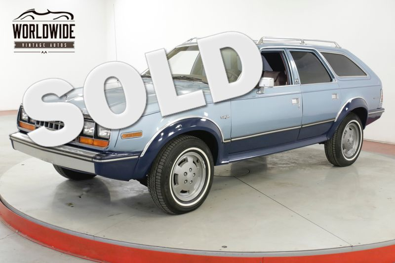 1981 Amc EAGLE TIME CAPSULE 64K ORIGINAL MI IMMACULATE  | Denver, CO | Worldwide Vintage Autos