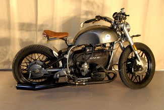 1981 BMW R100 VINTAGE STREET BOBBER MOTORCYCLE MADE TO ORDER Mendham, New Jersey 1