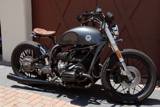 1981 BMW R100 VINTAGE STREET BOBBER MOTORCYCLE MADE TO ORDER Mendham, New Jersey 4
