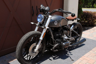 1981 BMW R100 VINTAGE STREET BOBBER MOTORCYCLE MADE TO ORDER Mendham, New Jersey 17