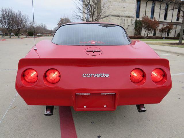 1981 Chevrolet Corvette Base in McKinney, Texas 75070