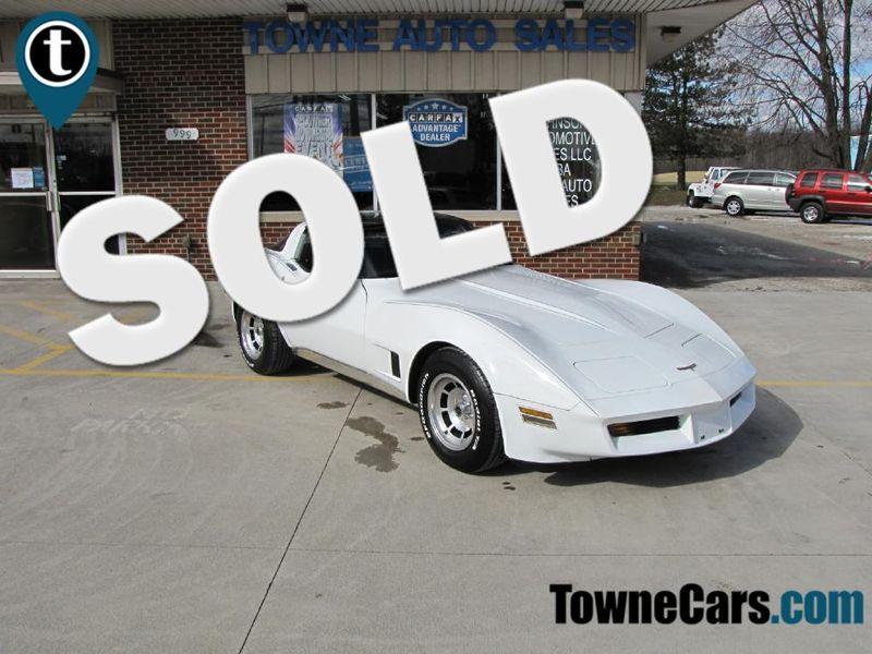 1981 Chevrolet Corvette T-TOPS | Medina, OH | Towne Cars in Medina OH