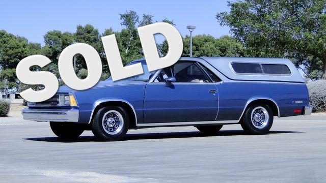 1981 Chevrolet El Camino MANUAL TRANS RADIO DELETE