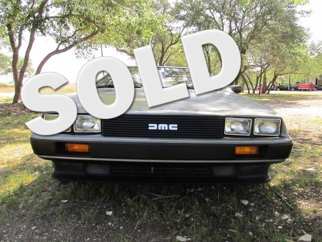 1981 Delorean DMC-12 Liberty Hill, Texas