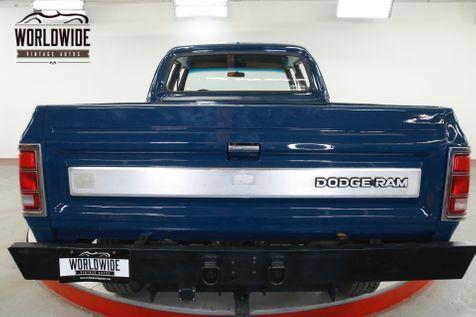1981 Dodge POWER RAM  CREW CAB 4X4 PS PB V8 ULTRA RARE NEW PAINT  | Denver, CO | Worldwide Vintage Autos in Denver, CO