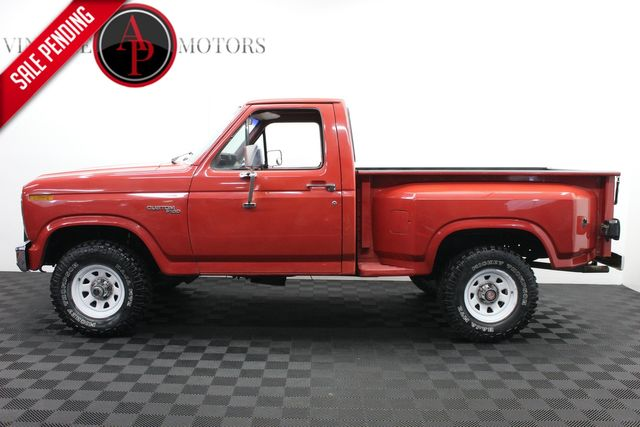 1981 Ford F150 4X4 V8 AUTO