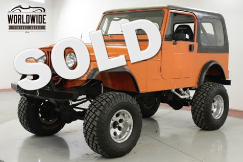 1981 Jeep CJ7  RESTORED FUEL INJECTED PS 5SPD LIFT CJ5  | Denver, CO | Worldwide Vintage Autos in Denver, CO