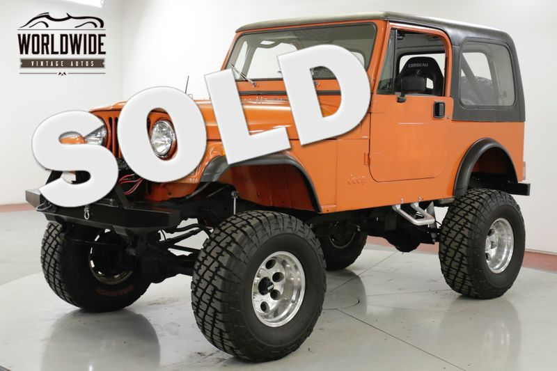 1981 Jeep CJ7  RESTORED FUEL INJECTED PS 5SPD LIFT CJ5  | Denver, CO | Worldwide Vintage Autos