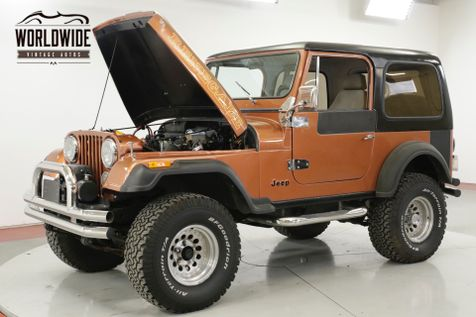 1981 Jeep CJ7 POWER STEERING POWER BRAKE FUEL INJECTED 4X4 | Denver, CO | Worldwide Vintage Autos in Denver, CO