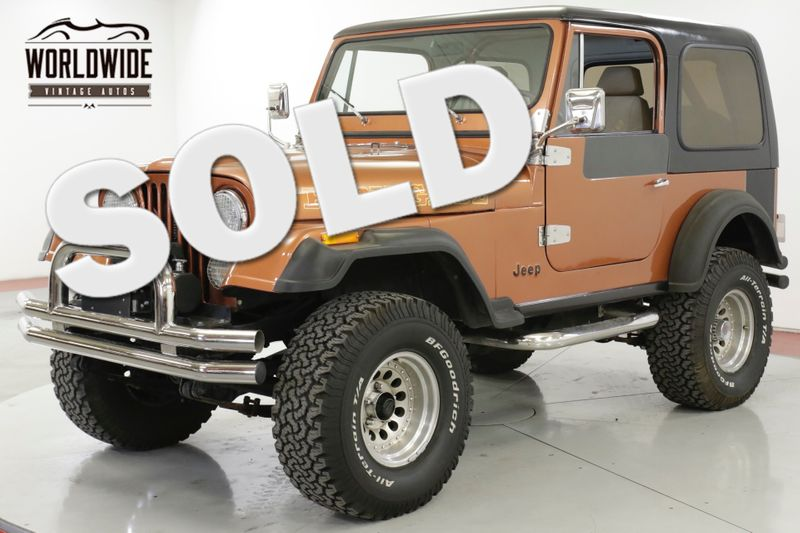 1981 Jeep CJ7 POWER STEERING POWER BRAKE FUEL INJECTED 4X4 | Denver, CO | Worldwide Vintage Autos