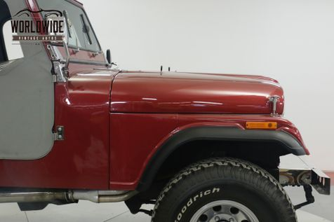 1981 Jeep CJ7 RESTORED 360 V8 PS PB AUTO CHROME MUST SEE | Denver, CO | Worldwide Vintage Autos in Denver, CO