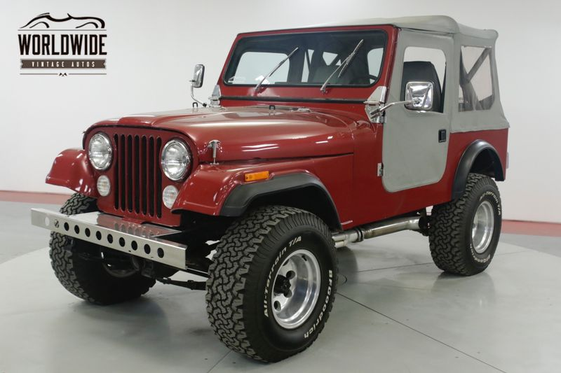 1981 Jeep CJ7 RESTORED 360 V8 PS PB AUTO CHROME MUST SEE | Denver, CO | Worldwide Vintage Autos