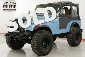 1981 Jeep CJ5 V8 4SPD HOLLEY FUEL INJECTION PS  | Denver, CO | Worldwide Vintage Autos in Denver CO