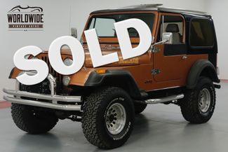 1981 Jeep CJ7  8000 MILES ON ENGINE  | Denver, CO | Worldwide Vintage Autos in Denver CO