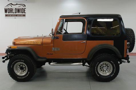 1981 Jeep CJ7  8000 MILES ON ENGINE    Denver, CO   Worldwide Vintage Autos in Denver, CO