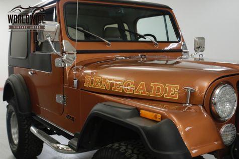 1981 Jeep CJ7  8000 MILES ON ENGINE  | Denver, CO | Worldwide Vintage Autos in Denver, CO