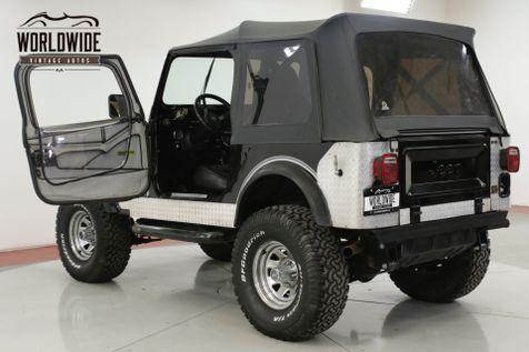 1984 Jeep CJ7  NEW INTERIOR LOW MILEAGE 350 CRATE MOTOR   Denver, CO   Worldwide Vintage Autos in Denver, CO