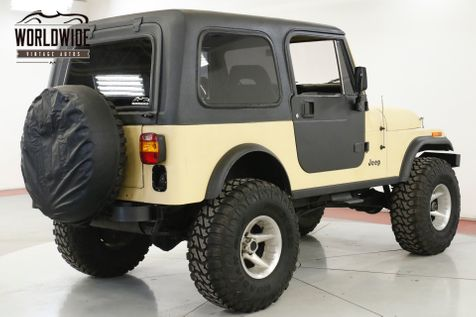 1981 Jeep CJ7 FUEL INJECTED A/C LIFT 4X4 HARDTOP PS PB | Denver, CO | Worldwide Vintage Autos in Denver, CO