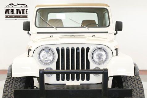 1981 Jeep SCRAMBLER 4.2L RESTORED CONVERTIBLE 4X4 PS | Denver, CO | Worldwide Vintage Autos in Denver, CO