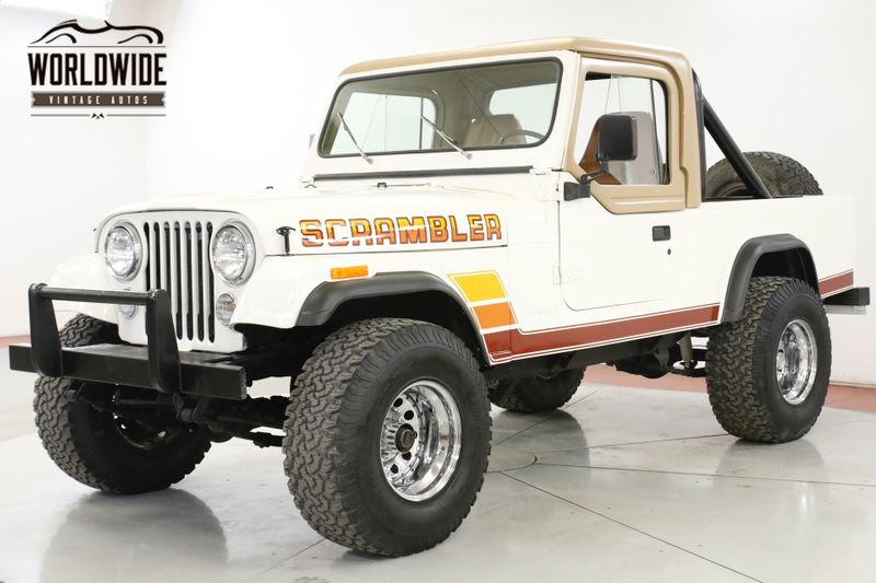 1981 Jeep SCRAMBLER 4.2L RESTORED CONVERTIBLE 4X4 PS   Denver, CO   Worldwide Vintage Autos