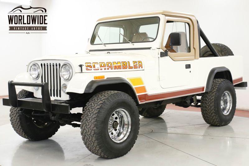 1981 Jeep SCRAMBLER 4.2L RESTORED CONVERTIBLE 4X4 PS | Denver, CO | Worldwide Vintage Autos