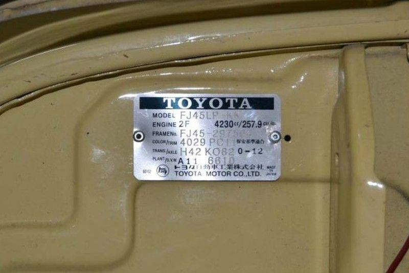 1981 Toyota FJ-45 Land Cruiser  city TX  Dallas Motorsports  in Wylie, TX