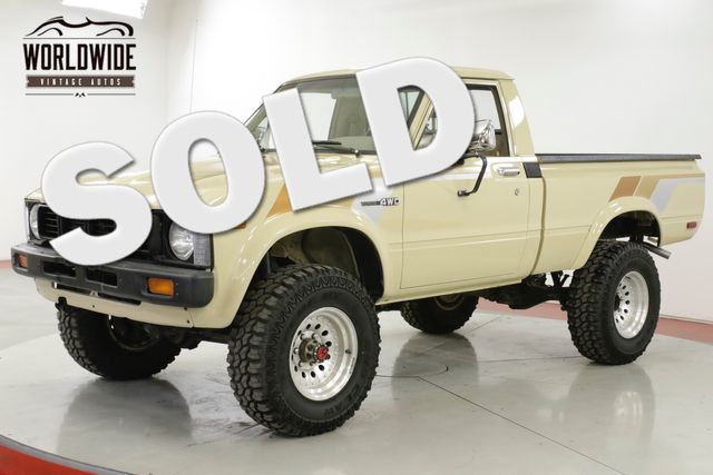 1981 Toyota HILUX RARE 1ST GEN 4X4 RESTORED 16K MI COLLECTOR | Denver, CO | Worldwide Vintage Autos in Denver CO