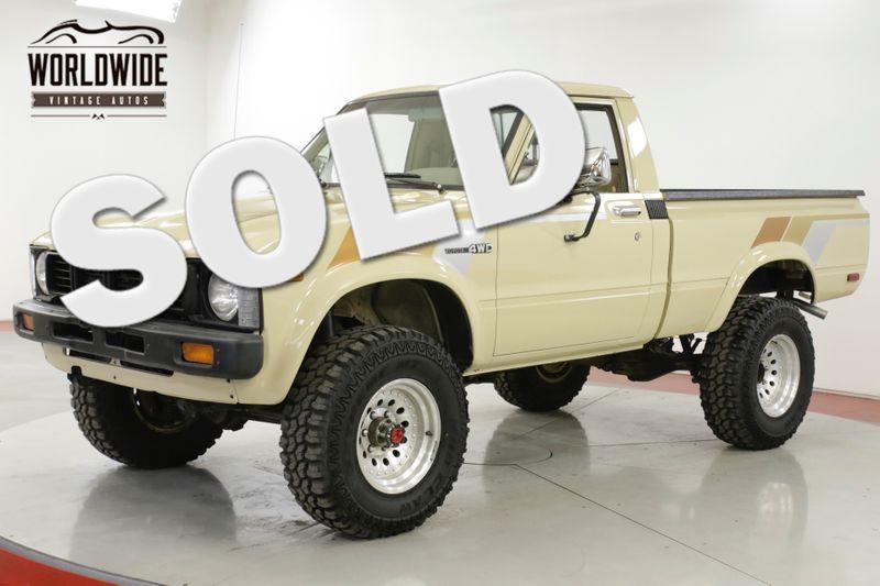 1981 Toyota HILUX RARE 1ST GEN 4X4 RESTORED 16K MI COLLECTOR | Denver, CO | Worldwide Vintage Autos