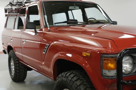 1981 Toyota LAND CRUISER FJ60 350 V8 ARB WINCH AUTO COLLECTOR 4x4  | Denver, CO | Worldwide Vintage Autos in Denver, CO