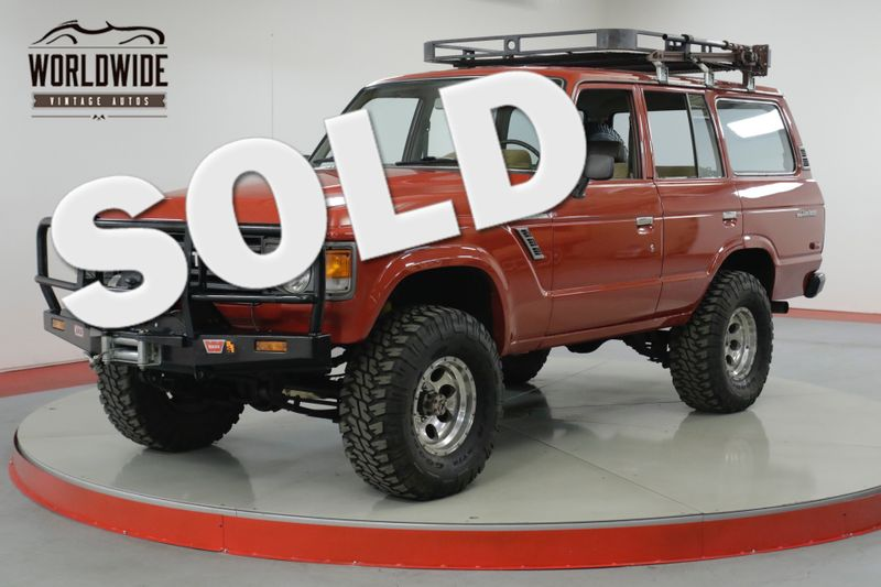 1981 Toyota LAND CRUISER FJ60 350 V8 ARB WINCH AUTO COLLECTOR 4x4  | Denver, CO | Worldwide Vintage Autos