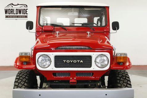 1981 Toyota LAND CRUISER  PS PB 4X4 ROLL BAR   Denver, CO   Worldwide Vintage Autos in Denver, CO