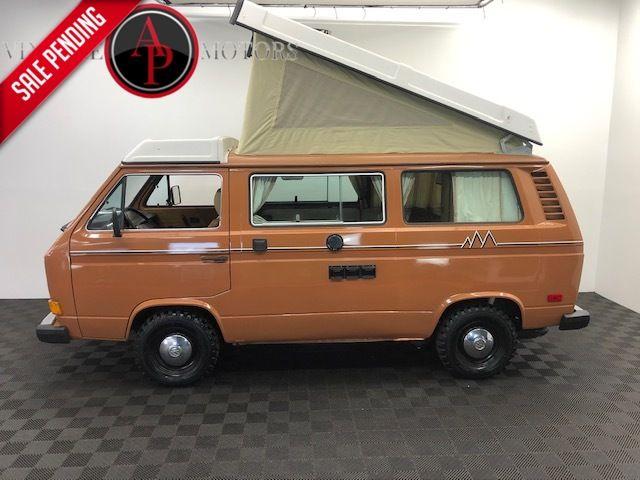 1981 Volkswagen Vanagon/Campmobile GL WESTFALIA CAMPER