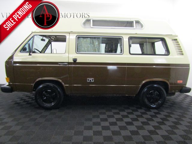1981 Volkswagen Vanagon ADVENTURE WAGON CAMPMOBILE RARE