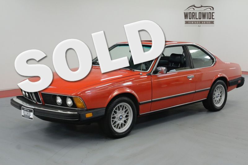 1982 BMW 6 Series 633CSi EXTENSIVE HISTORY AND RECORDS CLEAN LOW MILES | Denver, CO | Worldwide Vintage Autos
