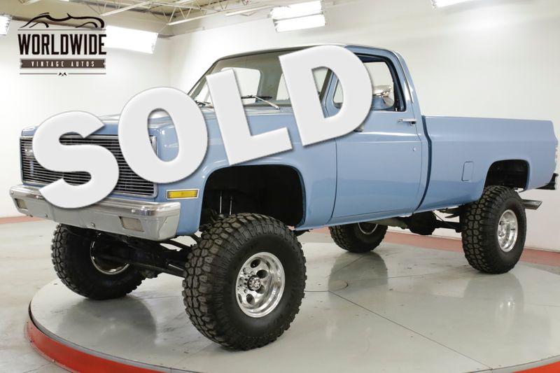 1982 Chevrolet TRUCK K10/C10 4x4 RESTORED V8 AUTO 15K MILES | Denver, CO | Worldwide Vintage Autos