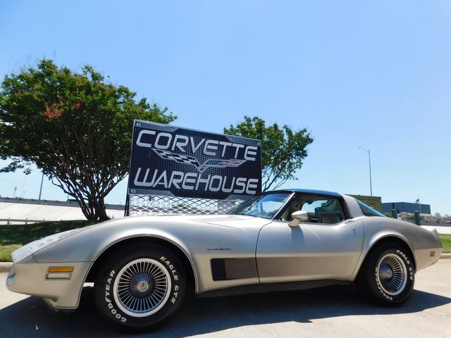 1982 Chevrolet Corvette Collectors Edition Coupe, Glass Tops, Original 39k in Dallas, Texas 75220