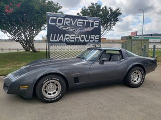 1982 Chevrolet Corvette Coupe Auto, Glass T-Tops, Alloy Wheels 95k in Dallas, Texas 75220