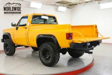1982 Chevrolet TRUCK LS CONVERSION 4x4 AC AUTO PS PB SQUARE BODY | Denver, CO | Worldwide Vintage Autos in Denver, CO