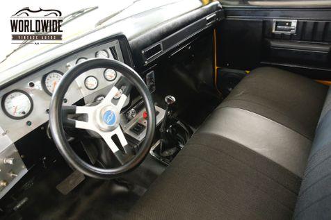 1982 Chevrolet TRUCK LS CONVERSION 4x4 AC AUTO PS PB SQUARE BODY   Denver, CO   Worldwide Vintage Autos in Denver, CO