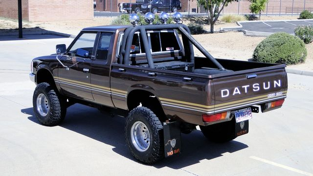 1982 Datsun/Nissan 720 4WD PICK UP KING KAB Phoenix, Arizona 6