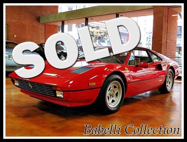 1982 Ferrari GTBI La Jolla, California