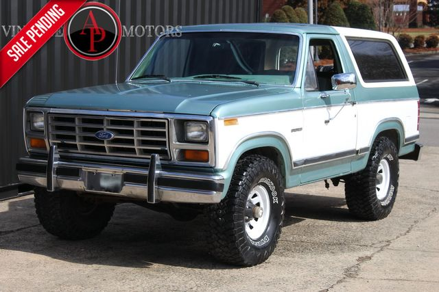 1982 Ford Bronco REMOVABLE HARD TOP 4X4 BULLNOSE