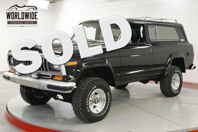 1982 Jeep CHEROKEE RARE 2 DOOR 360 V8 AUTO AC   Denver, CO   Worldwide Vintage Autos