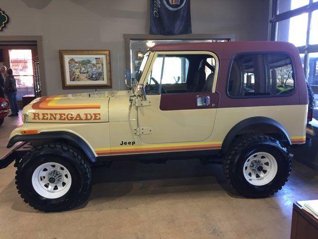 1982 Jeep CJ 4WD Renegade CJ7