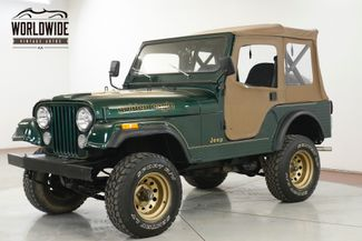 1982 Jeep CJ-5  GOLDEN EAGLE. 4x4. 4 SPD SOFT TOP CONVERTIBLE | Denver, CO | Worldwide Vintage Autos in Denver CO