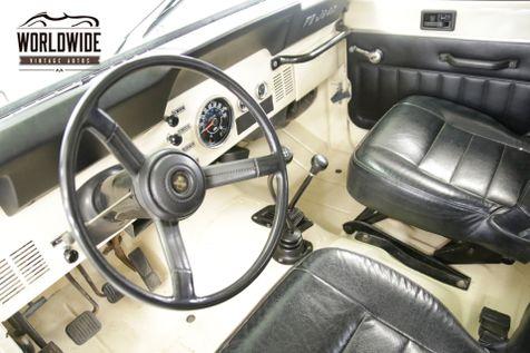 1982 Jeep CJ7  PS PB HARDTOP REBUILT MOTOR 2K MI 4x4 WINCH  | Denver, CO | Worldwide Vintage Autos in Denver, CO